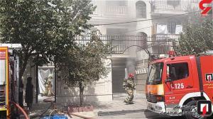 آتشسوزی خانه مسکونی در گلستان