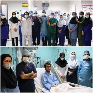 ترخیص بیمار دریافتکننده اولین پیوند موفق قلب در خوزستان