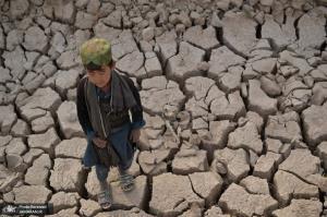خشکسالی شدید مزارع در افغانستان