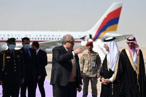 رئیس جمهور ارمنستان به عربستان سفر کرد