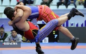 درخشش کشتیگیر کردستانی در مسابقات کشوری