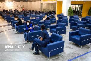 عکس/ صندلیهای خالی مراکز واکسیناسیون در انتظار مردم