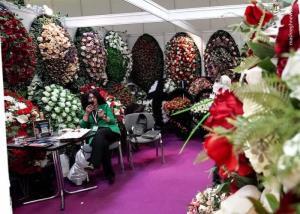 نمایشگاه خدمات تشییع جنازه در مسکو