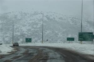بارش برف پائیزی مهمان ۳ شهرستان مازندران شد