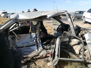 تصادف در بزرگراه اقاربپرست اصفهان ۲ کشته داشت