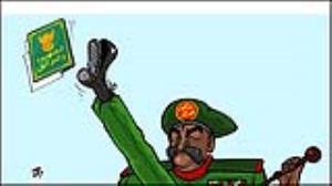 کاریکاتور/ کودتا در سودان