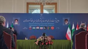 گزارش توییتری وزیر امور خارجه از نشست دوم همسایگان افغانستان در تهران