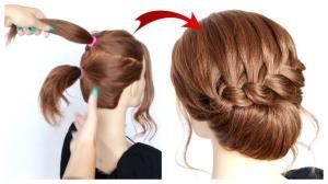 پیشنهادی خلاقانه برای موهای متوسط