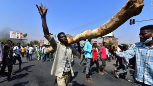 مقاومت سودانی ها برابر کودتای نظامیان