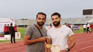 ورزشکار بوشهری بر بام پرش طول ایران