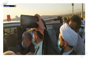 استقبال از پیکر شهید مدافع امنیت در دهدشت