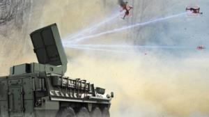 سلاح جدید کشتار جمعی پهپادها سوار بر یک خودروی زرهی