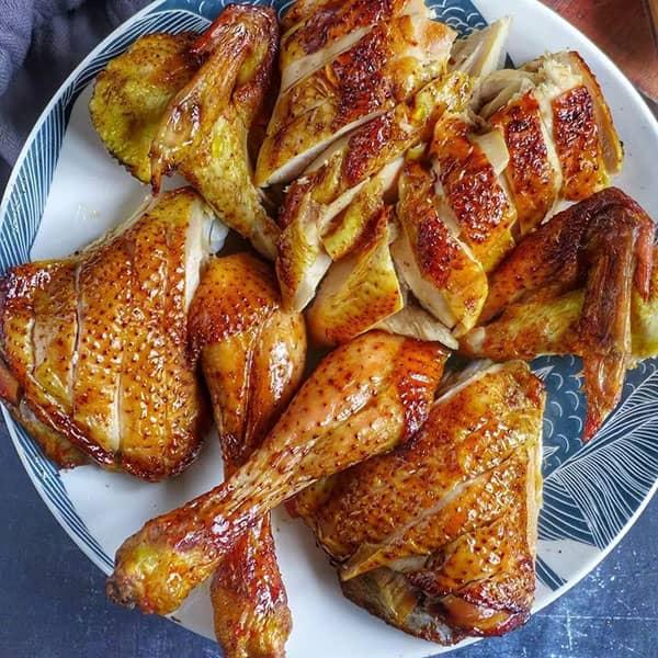 طرز تهیه مرغ بریان به روش چینی خوشمزه