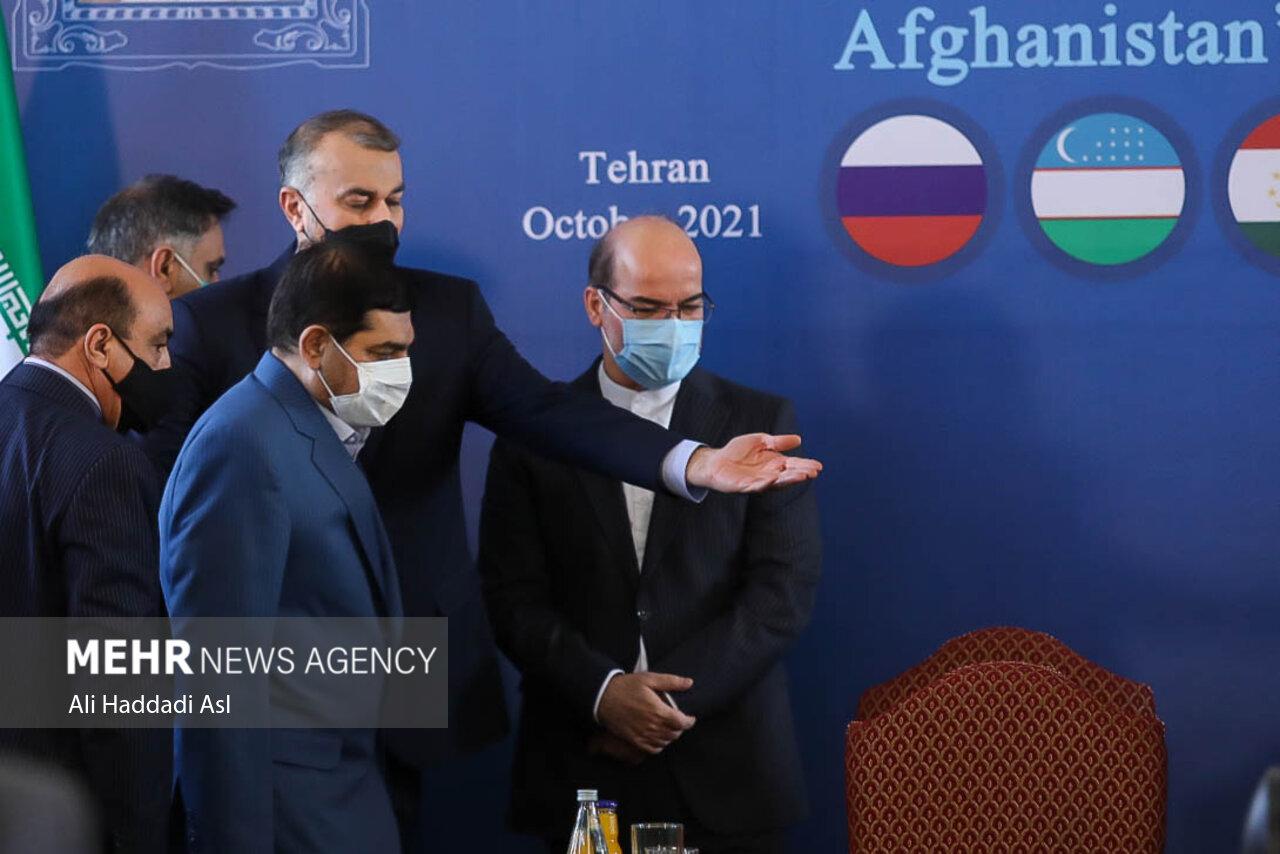 عکس/ دومین نشست وزرای امور خارجه کشور های همسایه افغانستان