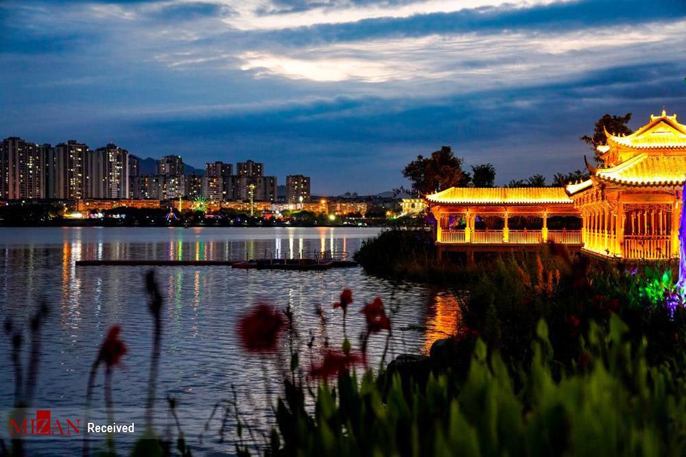 تصاویر دیدنی از دریاچه هان فنگ چین