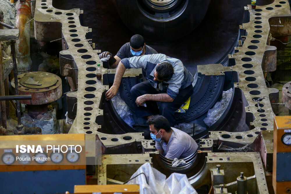آغاز فصل تعمیرات در نیروگاه برق مفتح همدان