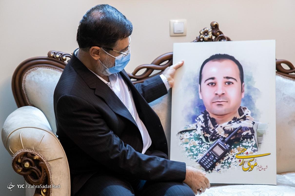 دیدار رییس بنیاد شهید با خانواده شهدا و جانبازان