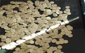 کشف ۲۸۰ عدد سکه تقلبی در شهرستان الیگودرز