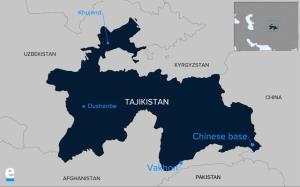 چین در تاجیکستان پایگاه نظامی احداث می کند