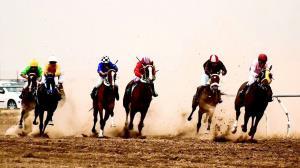 هفته نخست مسابقات اسبدوانی گنبدکاووس برگزار شد