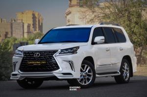 تجربه رانندگی با لکسوس LX570 فیسلیفت شده در ایران