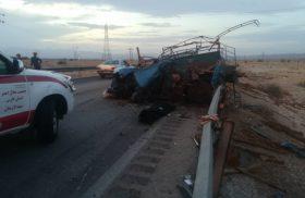 سومین تصادف مرگبار در محور لار_جهرم طی ۲ روز
