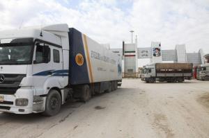 اعتصاب رانندگان عراقی باعث توقف صادرات از مرز پرویزخان شد