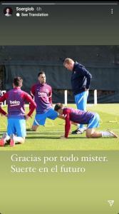 واکنش بازیکنان بارسلونا به اخراج کومان