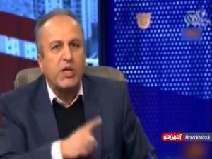 قهر آقای رئیس سابق از آنتن تلویزیون به خاطر ناتوانی در پاسخگویی