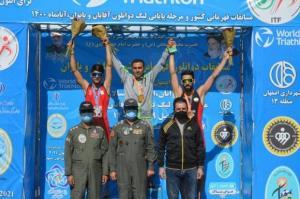 ورزشکار کردستانی صاحب مدال طلای رقابتهای دوگانه کشور شد