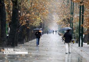 اولین بارش پاییزه میهمان استان قزوین میشود
