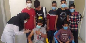 واکسیناسیون ۸۰درصدی دانشآموزان دلیجانی