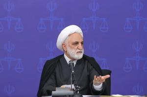 دیدار رئیس قوه قضاییه با قضات و کارکنان دادگستری خوزستان