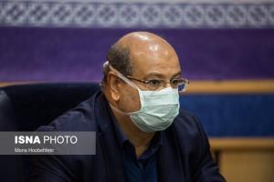زالی: آمار کرونا در تهران شکننده است