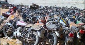 توقیف ۴۴ دستگاه خودرو و موتورسیکلت تحت تعقیب در کوهدشت