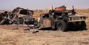 یک کاروان تجهیزات لجستیک آمریکا در عراق هدف قرار گرفت