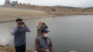 گشت مشترک پایش آنفلوانزای پرندگان در آبگیرهای طرقبه شاندیز