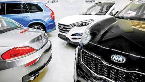 رشد جهشی نمایشگاهداری خودرو