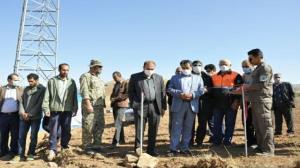 بهره برداری از ۱۵ بند آبخیزداری در روستای ارغای آوج