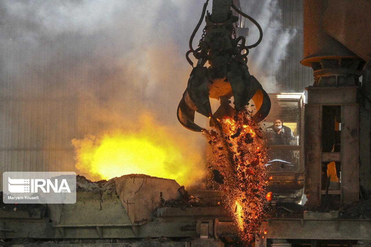 تصاویری از مجتمع فولاد بناب در تبریز