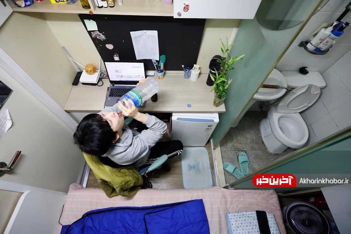 عکس/ متری 6.5؛ محل زندگی جوانان کرهای با درآمد پایین